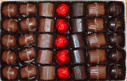 """Sugar Free Truffles, Our Finest Assortment 18 oz, Packed our """"SOLID BRICK"""" way!"""