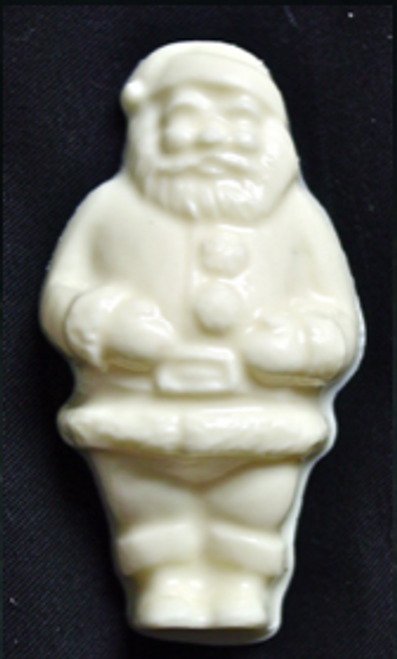 White Chocolate Sugar Free 2 oz Santa, Individually wrapped.