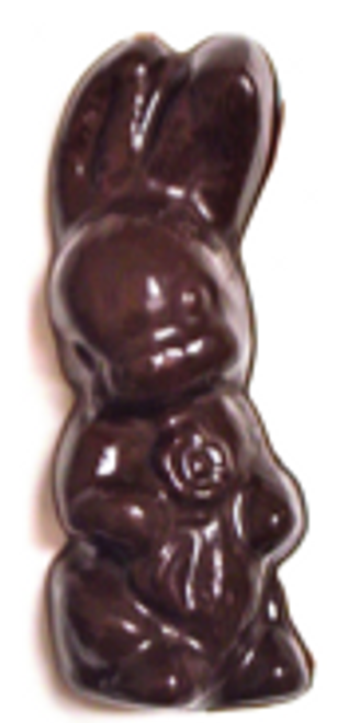 5 inch Sugar-Free Solid Chocolate Easter Bunny 3.5 oz