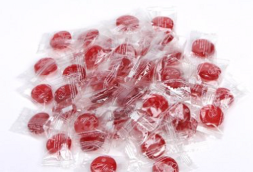 eda's sugar free cherry hard candy
