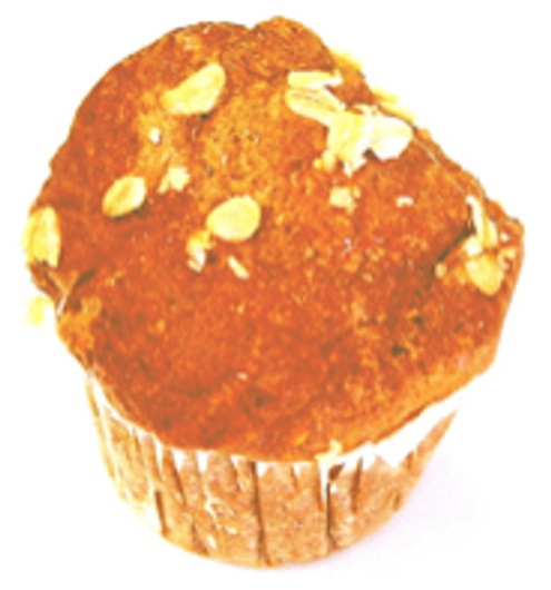 Bran Muffins - No Transfat, Cholesterol or Saturated Fat! Sugar Free (6 pack)