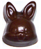 1 Inch Tall Bunnyheads, Sugar Free Chocolate, .4 oz each, individually wrapped