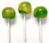 Diabeticfriendly's Sugar Free, Hard Candy, CAP POPS - SOUR GREEN APPLE & SOUR LEMON