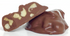 Sugar Free MILK Chocolate CASHEW Clusters, 1 lb Mylar Gift Bag