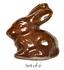 1 inch - Wee Tiny Rabbit. Sugar Free Chocolate , .2 oz, Set of 6