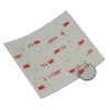 Double-sided adhesive pads provide a means of permanently affixing F5 size iButtons to a flat surface. Sold in packs of 12 adhesive pads.