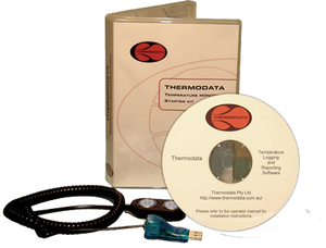 Thermodata Viewer Kit is our legacy product which uses a simple interface and software which assists you in temperature monitoring.