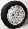"New Set of 4 Chrome 20"" Split Spoke Wheels with Goodyear Eagle LS2 Tires for Chevy Trucks or SUVs"