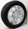 "Chrome 20"" Eight Spoke Wheels with Goodyear Tires for GMC Sierra, Yukon, Denali - New Set of 4"