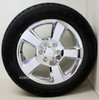 """New Set of 4 Chrome 20"""" New Style LTZ Wheels with Goodyear Eagle LS2 Tires for GMC Trucks or SUVs"""
