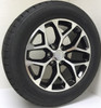 """Black and Machine 20"""" Snowflake Wheels with Goodyear Tires for Chevy Silverado, Tahoe, Suburban - New Set of 4"""