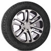 """New Set of 4 Black and Machine 20"""" Split Spoke Wheels with Goodyear Eagle LS2 Tires for Chevy Trucks or SUVs"""