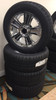 """Chrome 20"""" Groved Spoke with Black Circle Center Caps Wheels with Goodyear Tires for Chevy Silverado, Tahoe, Suburban - New Set of 4"""