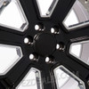 "New Set of 4 Gloss Black 20"" With Chrome Inserts Wheels with BFG Tires for GMC Trucks or SUVs"
