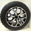 """New Set of 4 Black and Machine 20"""" Honeycomb Wheels with BFG KO2 A/T Tires for GMC Trucks or SUVs"""