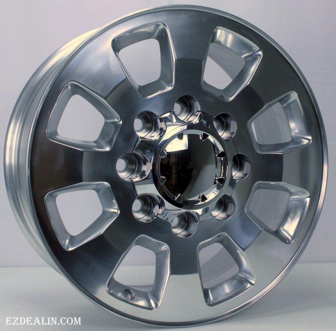 2011 2018 Gmc Sierra 2500 Polished Aluminum 18 8 Lug Wheels Rims 8 180