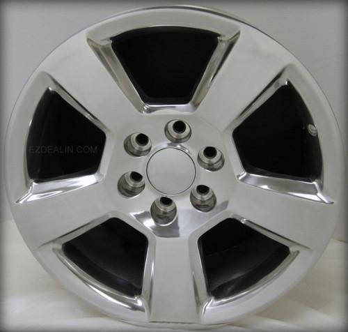 "Polished 20"" New Style LTZ Wheels for Chevy Silverado, Tahoe, Suburban - New Set of 4"