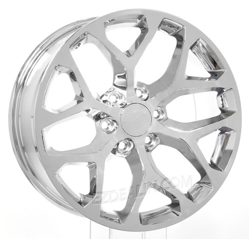 "Chevy 20"" snowflake wheels"