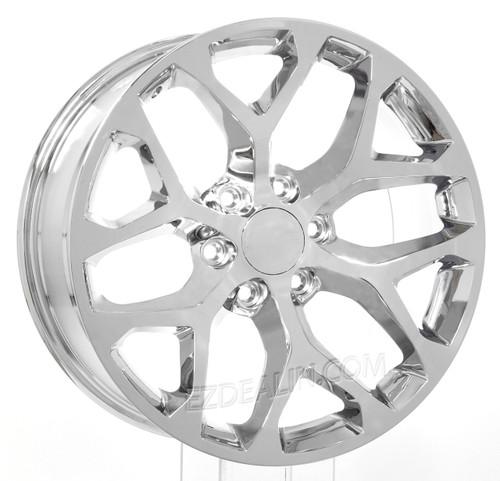 """Chevy 20"""" snowflake wheels"""