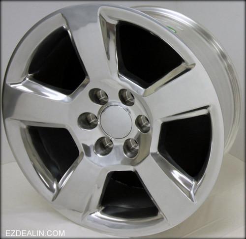 "Polished 20"" New Style LTZ Wheels for GMC Sierra, Yukon, Denali - New Set of 4"