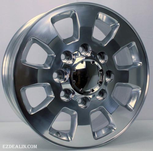 "2011-2018 GMC Sierra, Denali 2500 Polished Aluminum 18"" 8 Lug Wheels Rims  8-180"