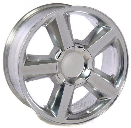 """Polished 20"""" Old Style LTZ Wheels for Chevy Silverado, Tahoe, Suburban - New Set of 4"""