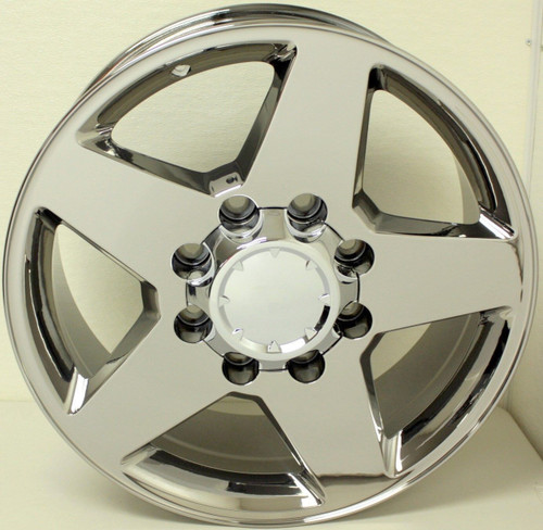 "New Set of 4 Chrome 20"" 8 Lug 8-165 Wheels for 2000-2010 GMC , Denali 2500 3500"