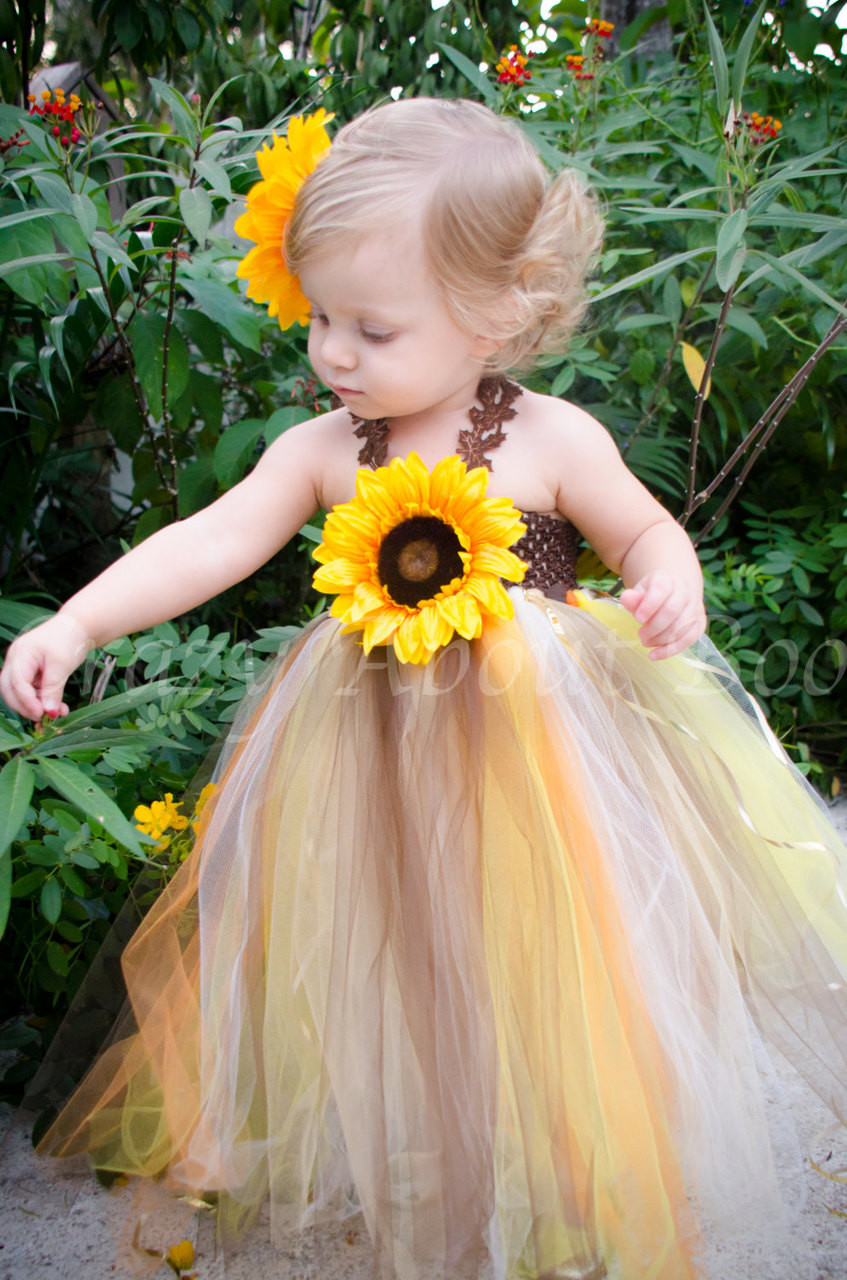 Lil pumpkin thanksgiving fall sunflower tutu dress lil pumpkin in our thanksgiving fall sunflower tutu dress for a newborn baby mightylinksfo