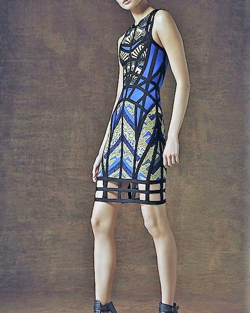 SHY FIGARO Bandage Dress