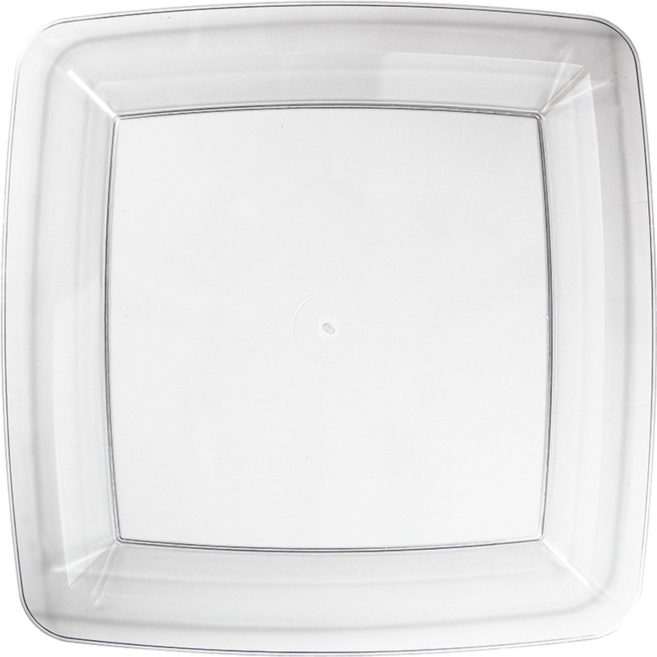 Clear 7\  Premium Plastic Square Plates  sc 1 st  Mtrade & Clear 7\