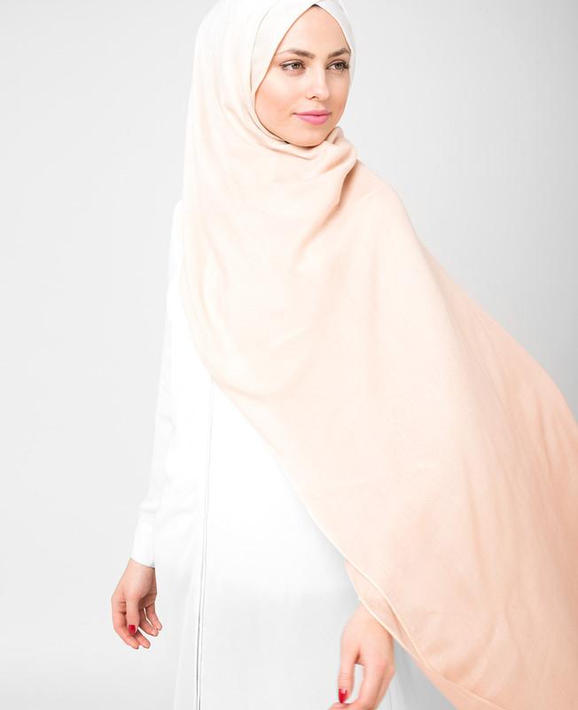Tuscany and White Ombre Viscose Hijab
