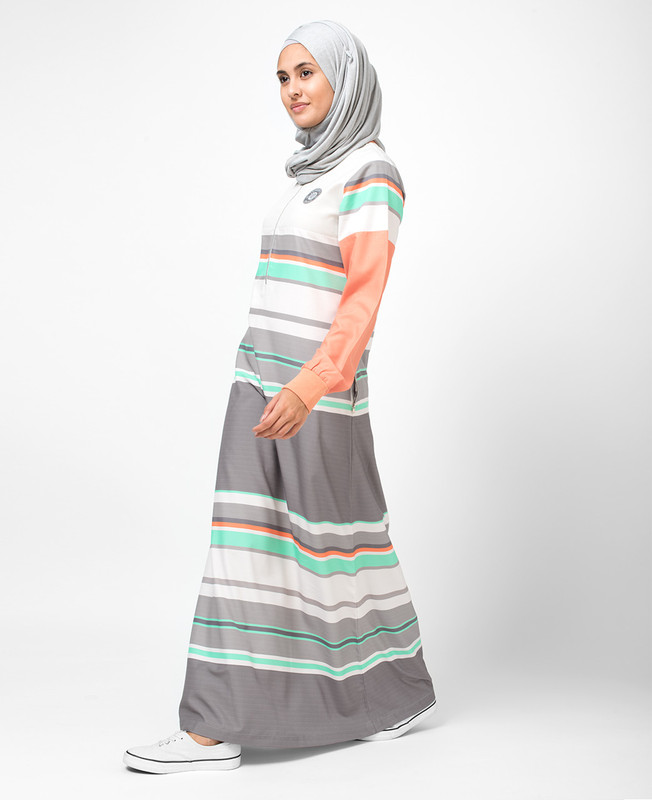 Urban Surf Printed Jilbab