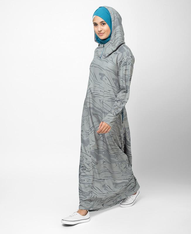 Whole Printed Abaya