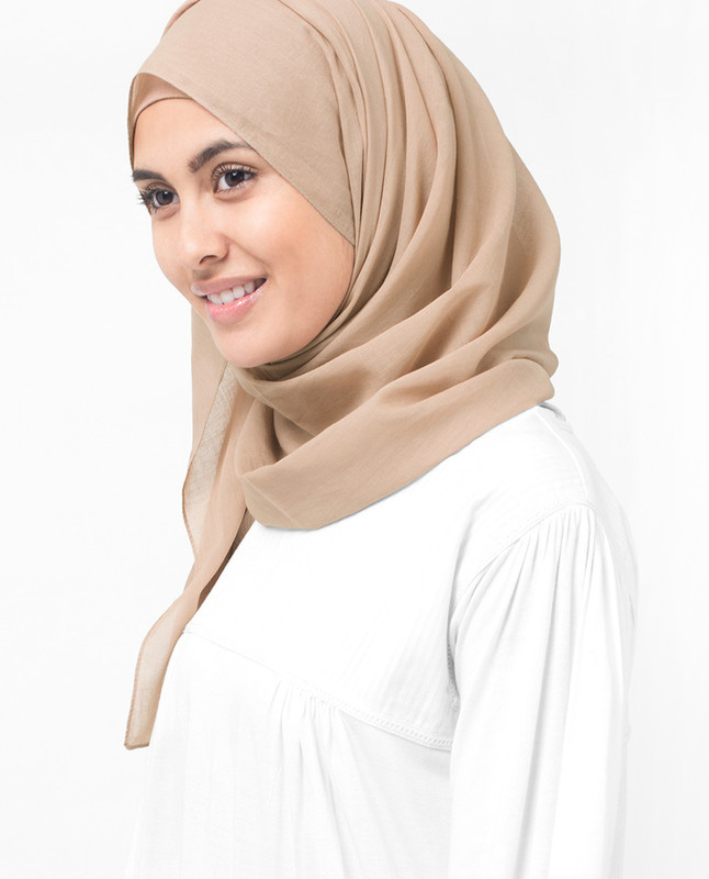 Almondine Cotton Voile Hijab