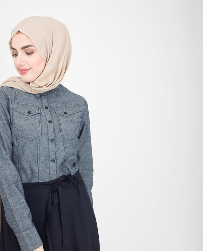 Shirt abaya jilbab