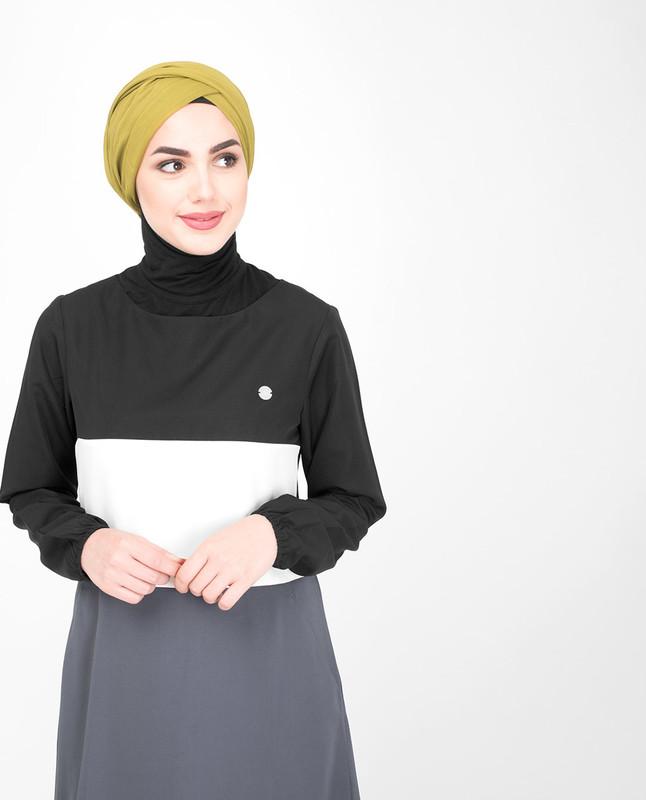 Colorful abaya jilbab