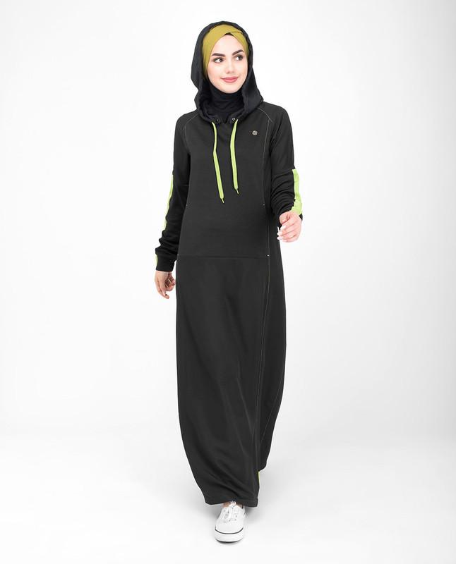 hooded sports jilbab abaya