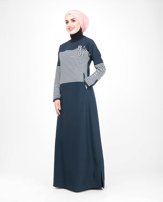 Embroidery jilbab abaya