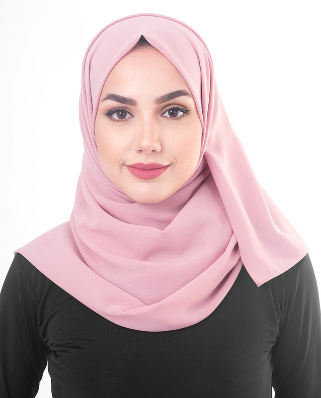 Purple hijab scarf