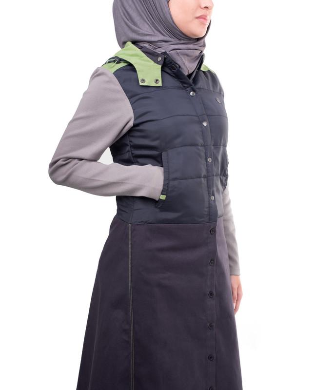 pockets winter abaya jilbab