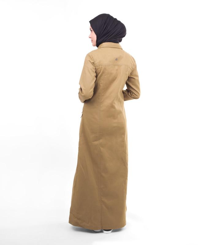 Winter fashionable abaya jilbab