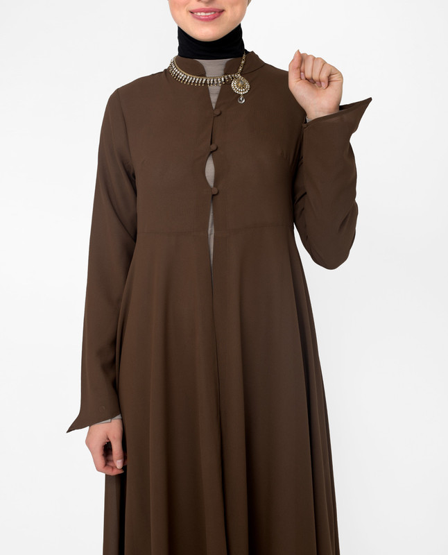 Long outerwear for women, kimono