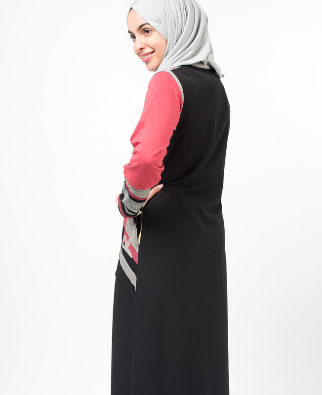 Alluring Abstract Jilbab