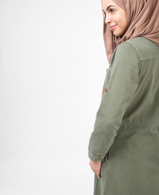 Sage Green Jilbab