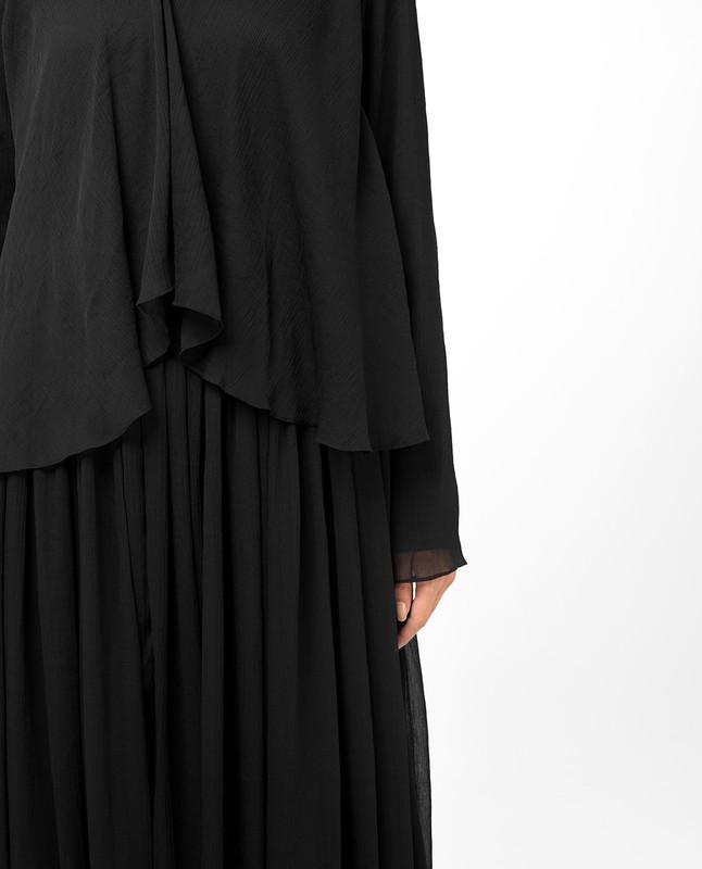 Dark Beauty Abaya