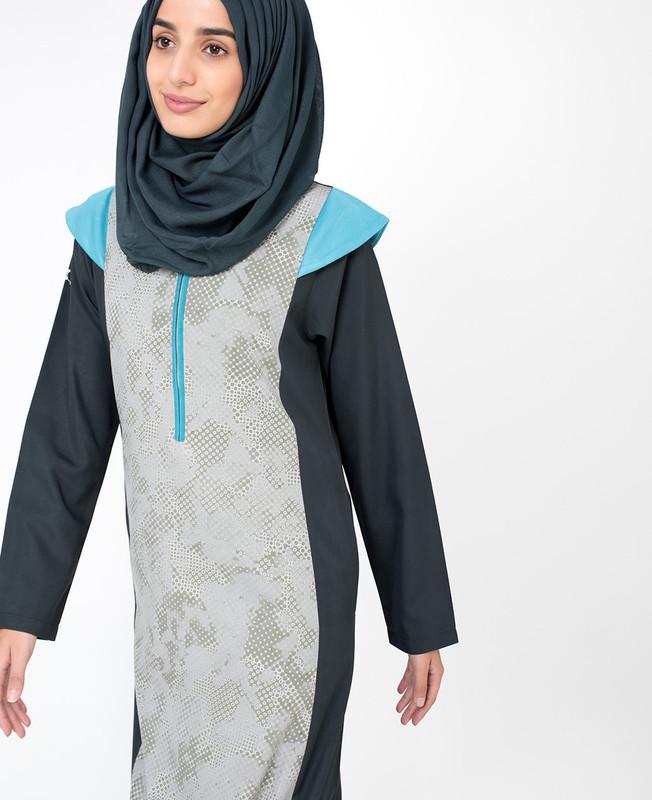Printed Style Jilbab