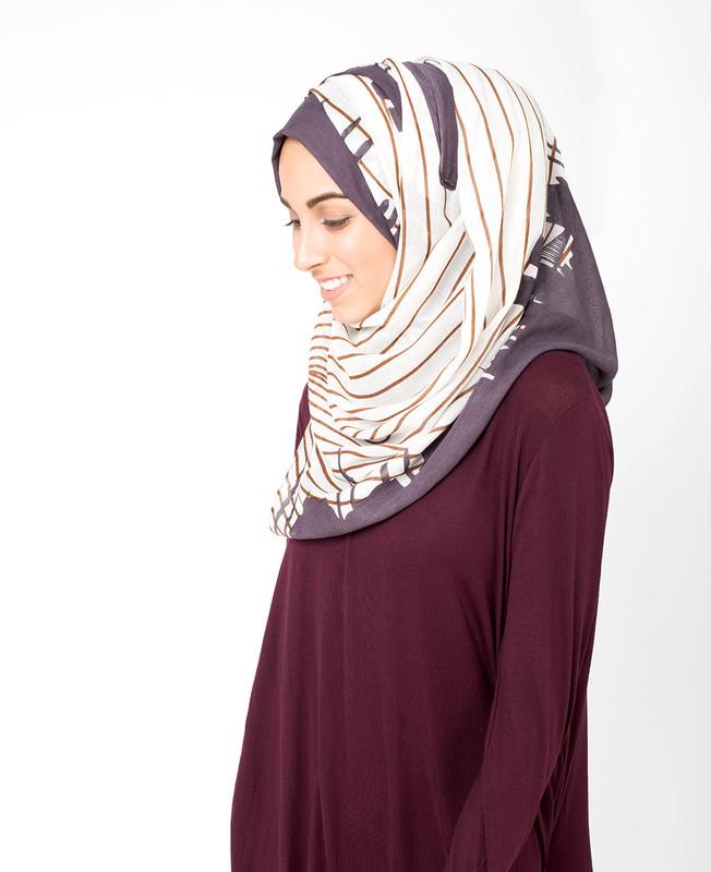Peppercorn Grey Hijab