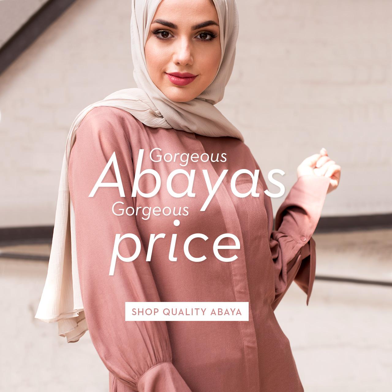 abaya, jilbab,