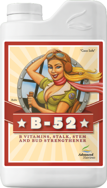 B-52 is a potent proprietary blend of six different B vitamins alongside amino-rich kelp extract, humic acids, fulvic acid and an array of powerhouse nutrients your plants thrive on. B-52 amplifies overall plant metabolism, promotes strong root development, boosts growth and helps your crops fight off stresses such as intense light, cold weather, ozone, drought and salinity.