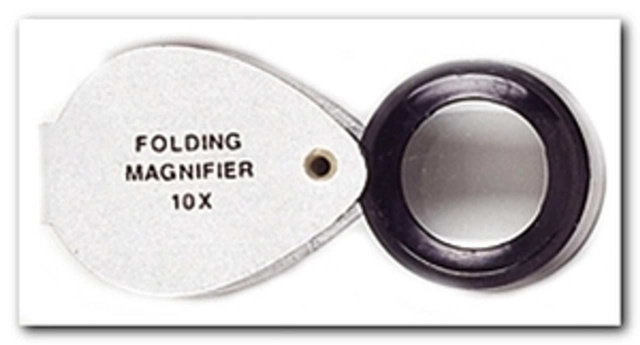 Jewelers Loupe 10X Doublet Chrome Loupes , so-MI119